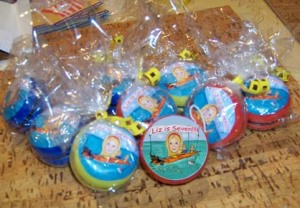 Caricature Yo-Yo Favors